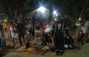 Atendimento ao sargento no Parque Cesamar