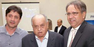 Da esquerda para direita: Júnior Miranda, Brito Miranda e Marcelo Miranda