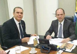 Reunião com Min. da Saúde