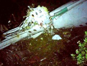Avião Chapecoense acidente Colômbia Sul-Americana