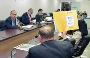 Humberto Camelo sabatinado por deputados