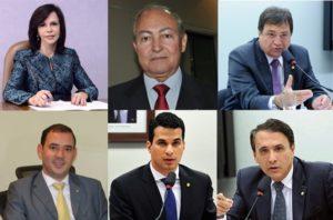Deputados federais do TO que votaram pela desfiguração