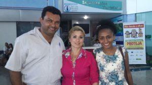 Recepção no aeroporto de Palmas