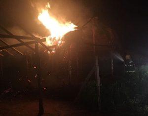 Incêndio em Araguatins